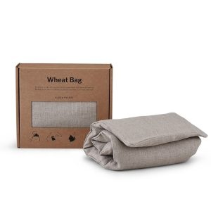 Blasta Henriet Wheat Bag Plain Linen